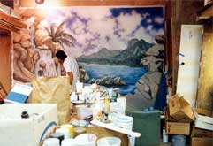 Painting the Tropical Mural