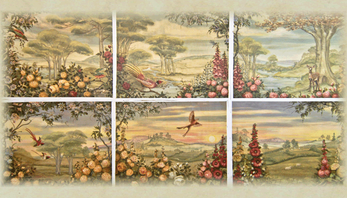 Jayne House: Bird Panels