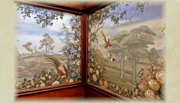 Jayne House: Bird Panel Corner