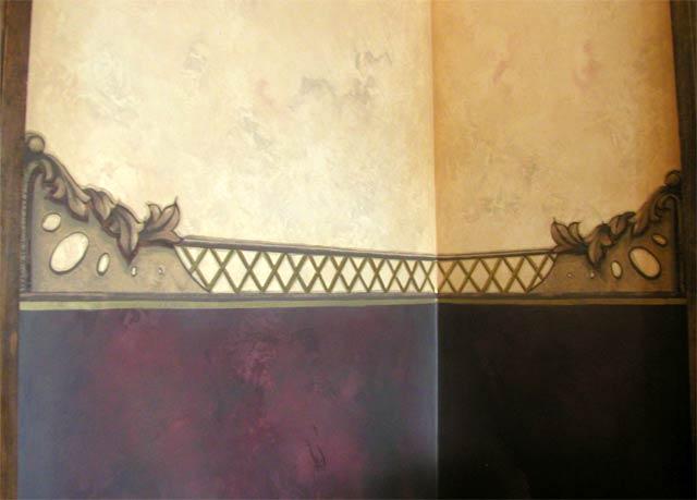 Victorian Walls pine street studios > victorian vestibule: wall corner detail